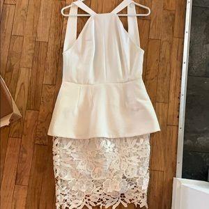 White Cameo dress